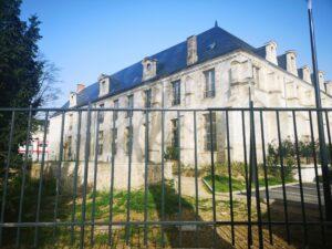 Barrières métalliques Abbaye de Toussaints